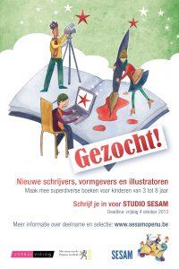 Studio SESAM_Gezocht_Postkaart