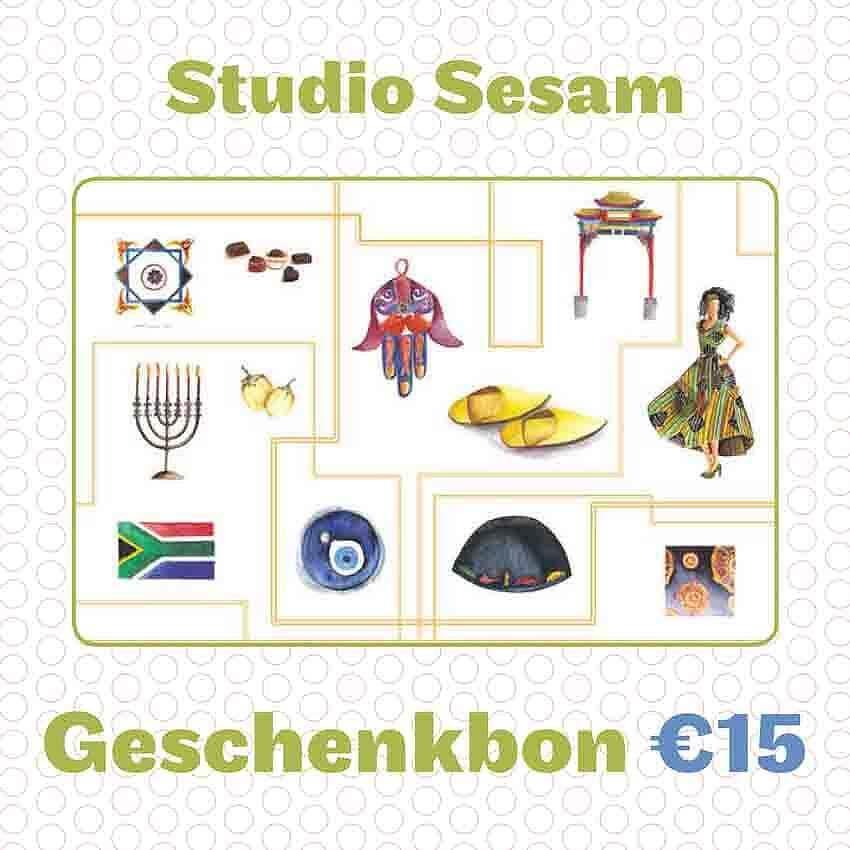 Sesam geschenkbon 15 euro