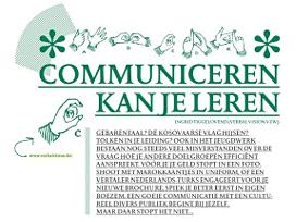Communiceren kan je leren