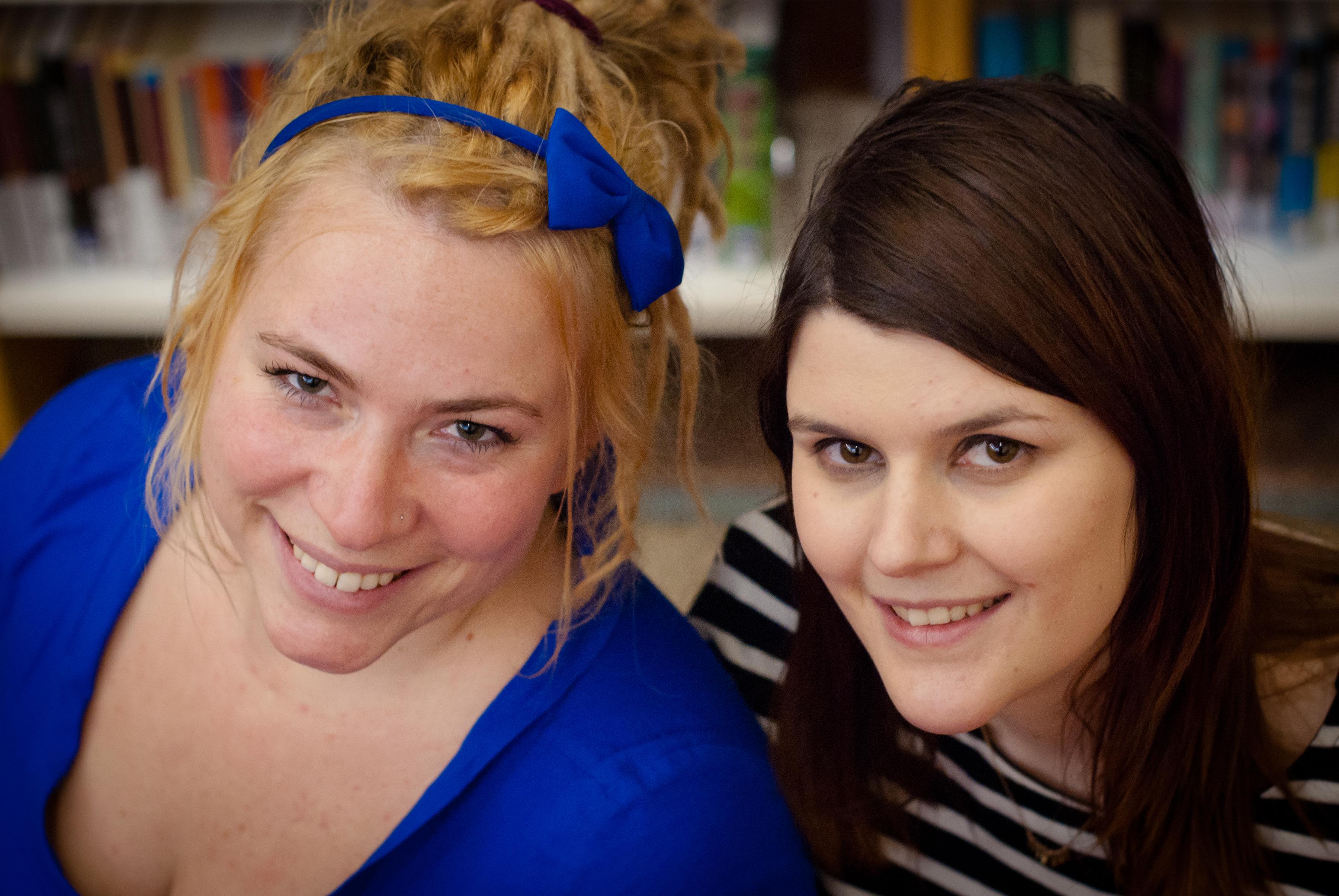 Lies Vervloet en Laura Janssens
