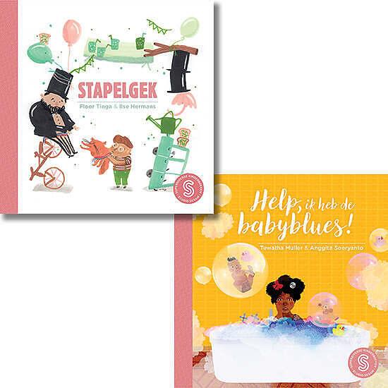 Stapelgek / Help ik heb de babyblues Cover